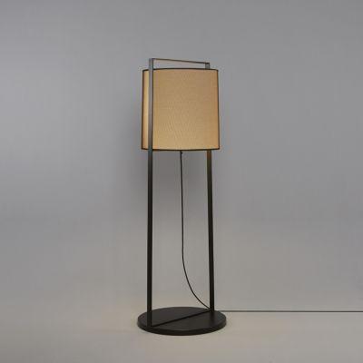Tooy Macao lampa stojąca 1x20W czarny piaskowy/beżowy 551.64.C74.B-F