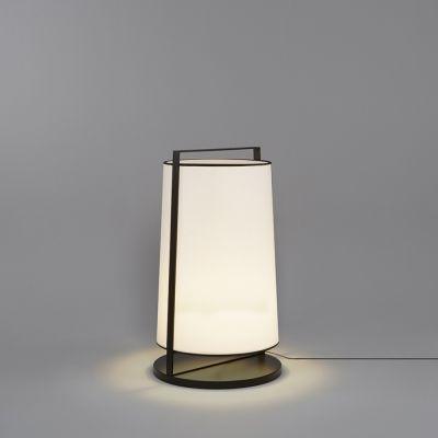 Tooy Macao lampa stojąca 1x20W czarny piaskowy/biały 551.65.C74.W-F