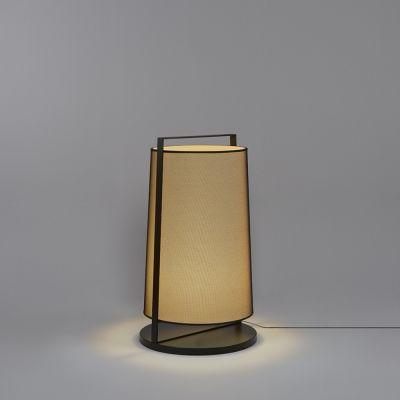 Tooy Macao lampa stojąca 1x20W czarny piaskowy/beżowy 551.65D.C74.B-F