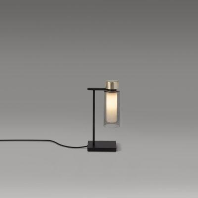 Tooy Osman lampa stołowa 1x10W czarny mat/mosiądz szczotkowany 560.31.C2.C41