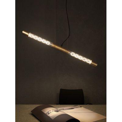 Vesoi Fuse 80/s2 lampa wisząca 2x6W czarna SO01024