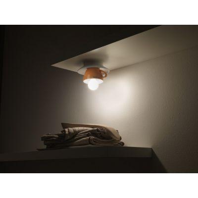 Vesoi IdeaCappuccino 15/sp lampa podsufitowa 1x4W biały/zielony SP00029