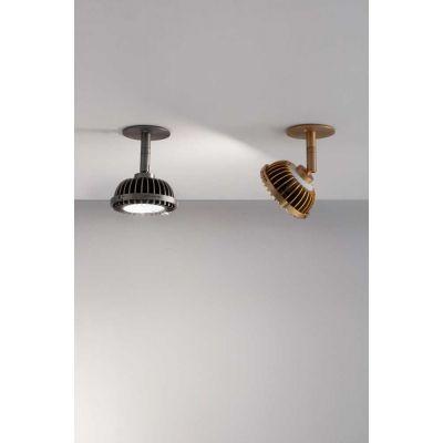Vesoi Ar111- 11/sp lampa podsufitowa 1x25W czarna SP01251