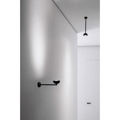 Vesoi Ar111- 45/sp lampa podsufitowa 1x25W czarna SP01306