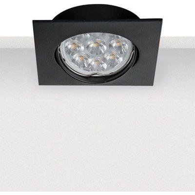Zambelis Lighting lampa do zabudowy 1x50W czarna S014