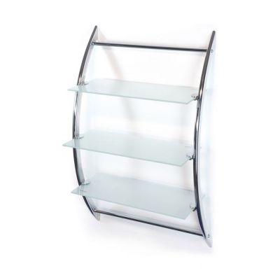 Awd Interior półka wisząca chrom/szkło AWD02050026