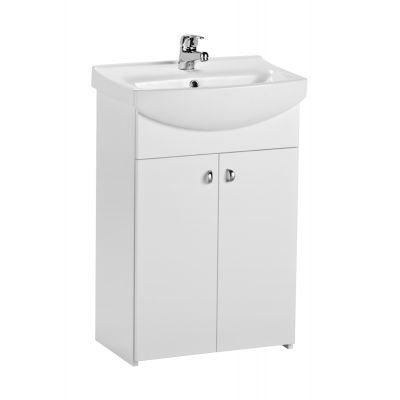 Cersanit Bianco szafka 50 cm podumywalkowa stojąca biała S509-032-DSM