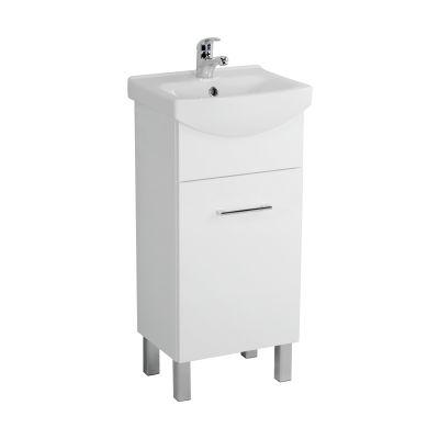 Cersanit Olivia szafka 40 cm podumywalkowa stojąca biała S543-001-DSM
