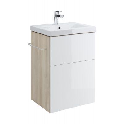 Cersanit Smart szafka 50 cm podumywalkowa wisząca biała S568-016