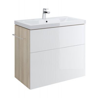 Cersanit Smart szafka 80 cm podumywalkowa wisząca biała S568-020