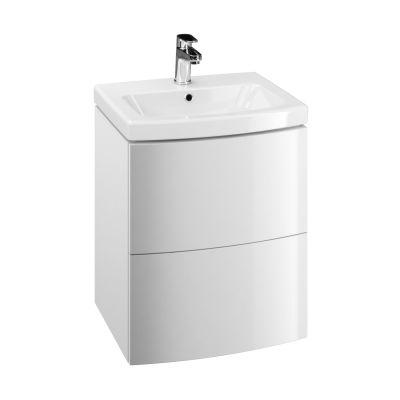 Cersanit Easy szafka 50 cm podumywalkowa wisząca biała S573-002