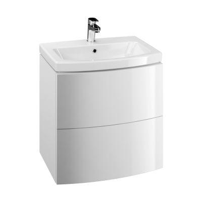 Cersanit Easy szafka 60 cm podumywalkowa wisząca biała S573-006