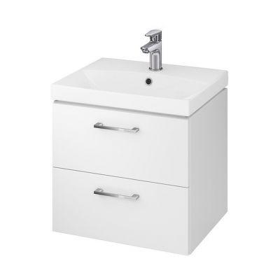 Cersanit Lara umywalka z szafką 50 cm zestaw meblowy biały S801-141-DSM