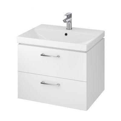Cersanit Lara umywalka z szafką 60 cm zestaw meblowy biały S801-142-DSM