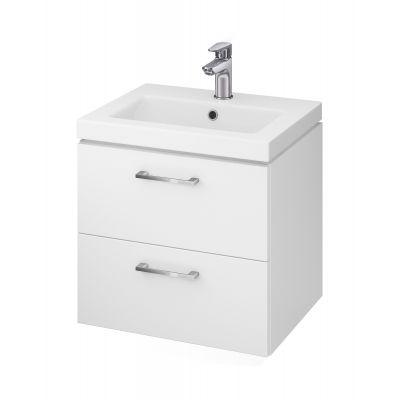 Cersanit Lara umywalka z szafką 50 cm zestaw meblowy biały S801-146-DSM