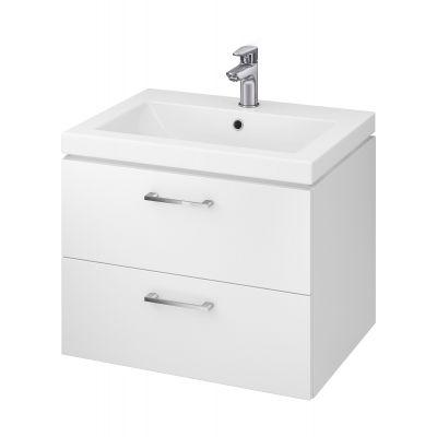 Cersanit Lara umywalka z szafką 60 cm zestaw meblowy biały S801-147-DSM
