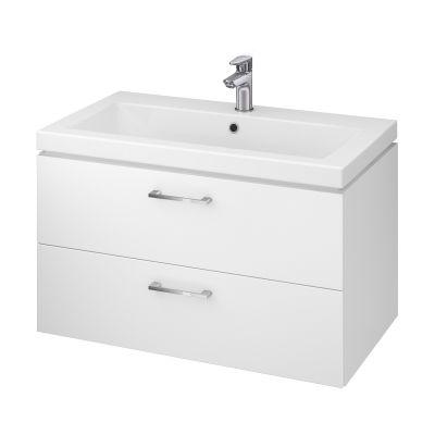 Cersanit Lara umywalka z szafką 80 cm zestaw meblowy biały S801-149-DSM