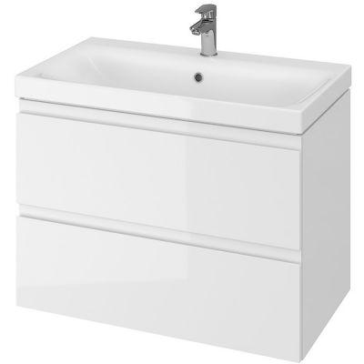 Cersanit Moduo umywalka z szafką 80 cm zestaw meblowy biały S801-221