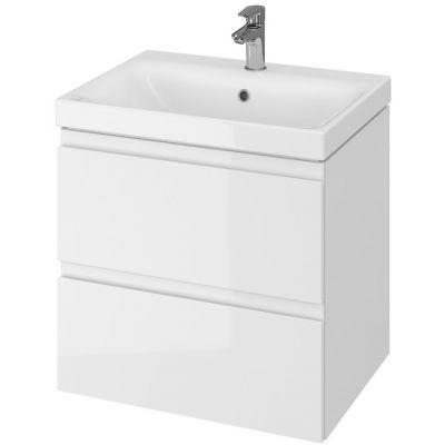 Cersanit Moduo umywalka z szafką 60 cm zestaw meblowy biały S801-223