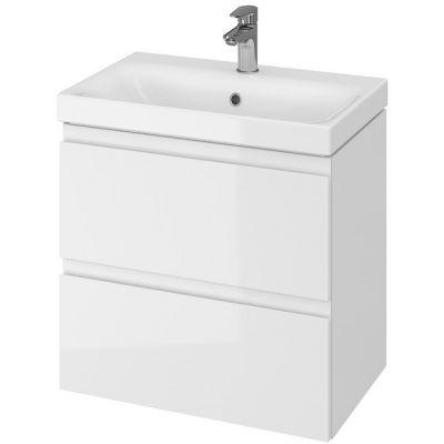 Cersanit Moduo umywalka z szafką 60 cm zestaw meblowy Slim biały S801-227