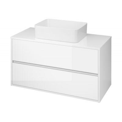 Cersanit Crea szafka 100 cm wisząca z blatem biała S924-006