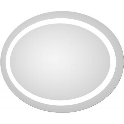 Dubiel Vitrum Dione lustro owalne 85x65 cm z oświetleniem