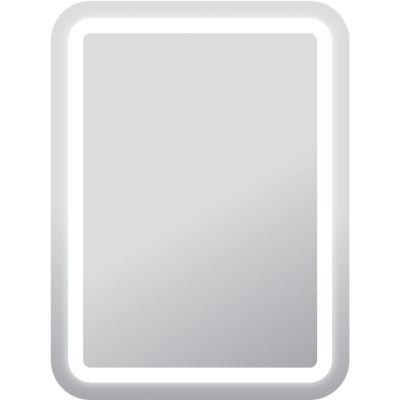 Dubiel Vitrum Perfekt lustro prostokątne 80x60 cm z oświetleniem