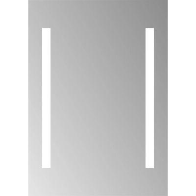 Dubiel Vitrum Bono lustro prostokątne 80x70 cm z oświetleniem