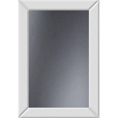 Dubiel Vitrum Domino White lustro prostokątne 80x55 cm