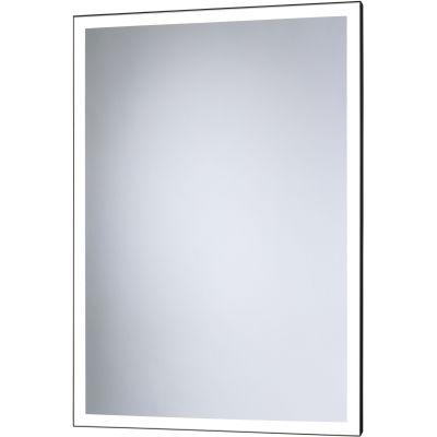 Dubiel Vitrum Solid Black lustro prostokątne 80x60 cm z oświetleniem