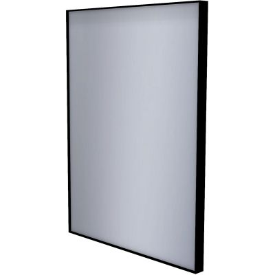 Dubiel Vitrum Stark Black lustro prostokątne 80x60 cm