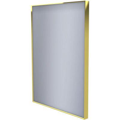 Dubiel Vitrum Stark Gold lustro prostokątne 80x60 cm
