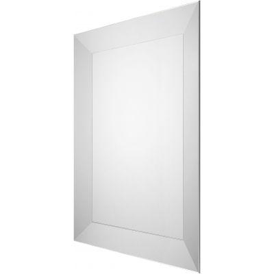 Dubiel Vitrum Torino Silver lustro prostokątne 80x60 cm