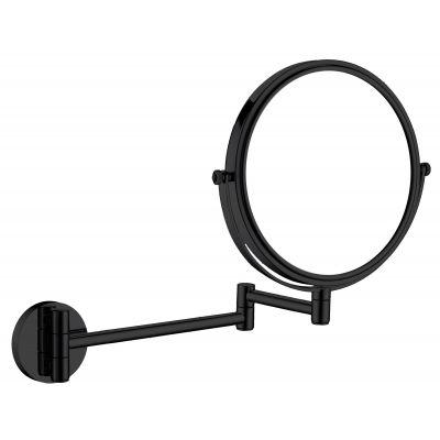 Deante Round lusterko kosmetyczne ścienne czarne ADRN811