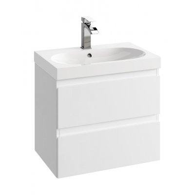 Defra Como szafka 60 cm podumywalkowa biały połysk 123-D-06001