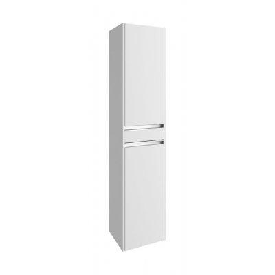 Defra Fonte szafka 160 cm wysoka biały połysk 154-C-03508