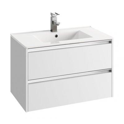 Defra Fonte szafka 79 cm podumywalkowa biały połysk 154-D-08008