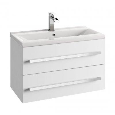 Defra Granada szafka 80 cm podumywalkowa biały połysk 167-D-08001