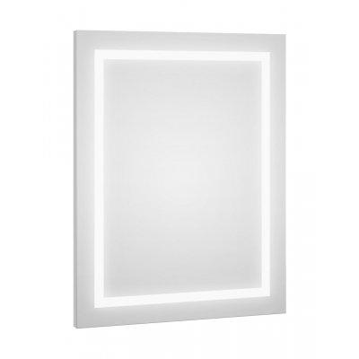 Defra Dot lustro 60x80 cm biały mat 217-L-06007