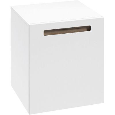 Defra Senso D45 szafka 45 cm wisząca boczna biały połysk 260-B-04502