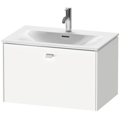 Duravit Brioso szafka 72 cm  podumywalkowa wisząca biały mat BR421101818