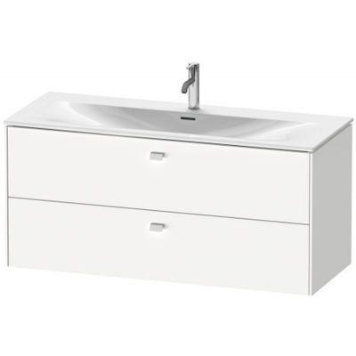 Duravit Brioso szafka 122 cm podumywalkowa wisząca biały mat BR431401818