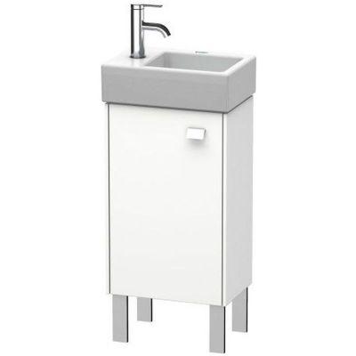 Duravit Brioso szafka 36,4 cm podumywalkowa stojąca lewa biały mat BR4429L1818
