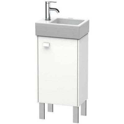 Duravit Brioso szafka 36,4 cm podumywalkowa stojąca prawa biały mat BR4429R1818