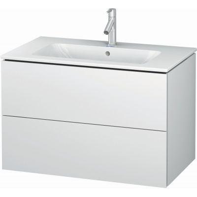 Duravit L-Cube szafka 82 cm podumywalkowa wisząca biały mat LC624101818