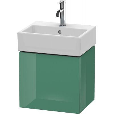 Duravit L-Cube szafka 43,4 cm podumywalkowa wisząca lewa nefryt wysoki połysk LC6245L0303