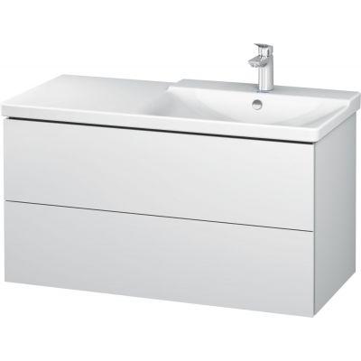 Duravit L-Cube szafka 102 cm podumywalkowa wisząca biały mat LC625201818