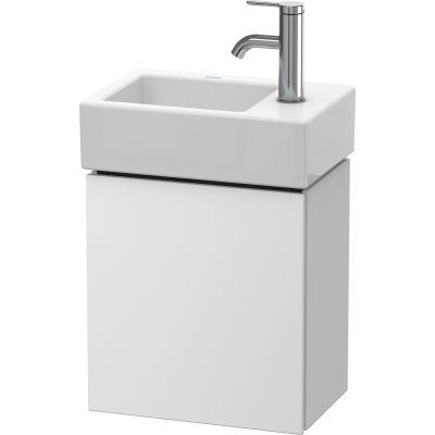 Duravit L-Cube szafka 36,4 cm podumywalkowa wisząca prawa biały mat LC6293R1818