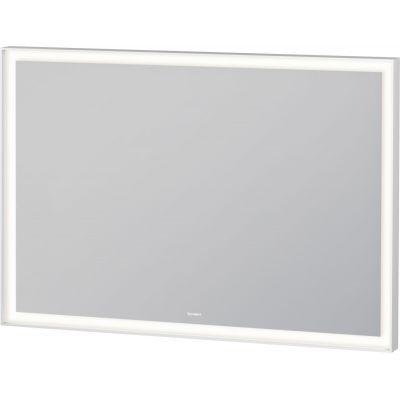 Duravit L-Cube lustro 100x70 cm z oświetleniem LED biały mat LC738200000