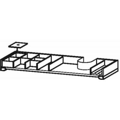 Duravit XSquare organizer do szafki 101 cm klon UV978907878